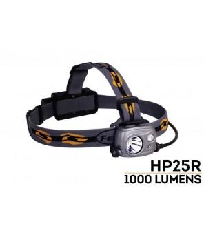 Fenix HP25R LED žibintuvėlis ant galvos