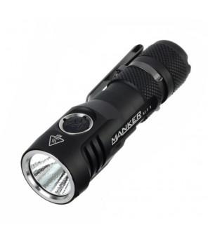 Manker U11 1050lm  XP-L LED USB įkraunamas žibintuvėlis, neutraliai balta