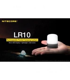 Nitecore LR10 žibintas, juodas