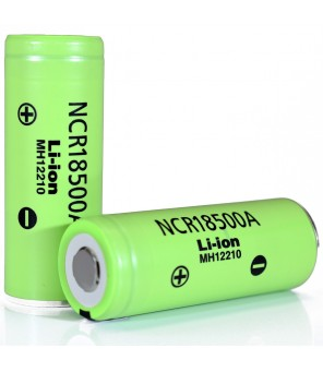 18500 baterija NCR18500A 2040mAh 3.7v Panasonic 3.8A