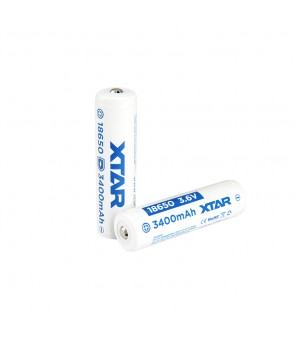 3.6V baterija 18650 3400 mAh su integruotu krovimo valdikliu