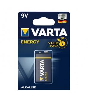 Šarminė baterija 9V Energy VARTA 4122