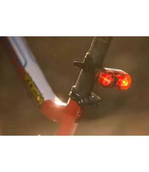 Galinis dviračio žibintas Mactronic 18lm  Walle