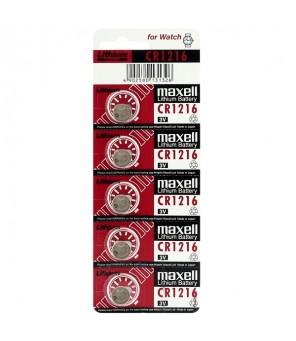 Maxell CR1216 elementas, 5 vnt.
