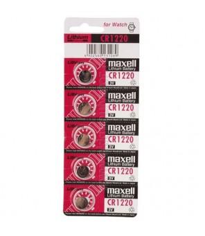 Maxell CR1220 elementas, 5 vnt.