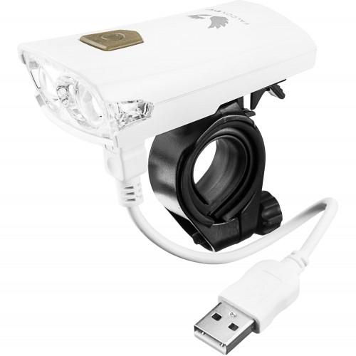 Pakraunamas dviračio žibintas, priekinis Falcon Eye USB  FALCO