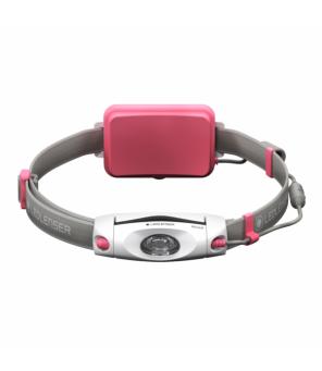 Led Lenser NEO6R galvos žibintuvėlis (rožinis)