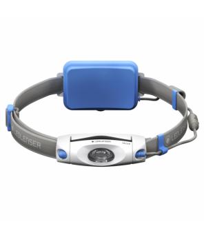 Led Lenser NEO6R galvos žibintuvėlis (mėlynas)