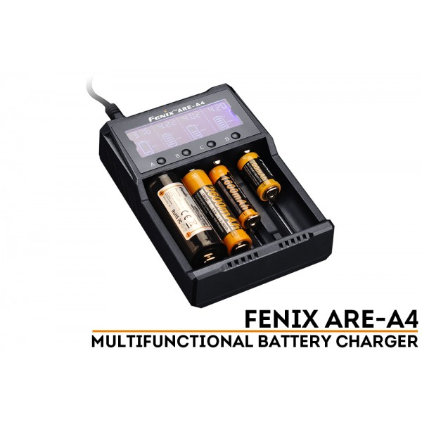 Fenix ARE-A4 multifunkcinis įkroviklis