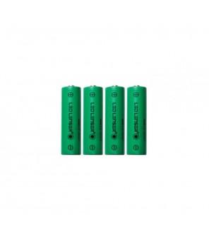 Ledlenser 4 x AA Ni-MH pakraunamos baterijos žibintuvėliui H14R