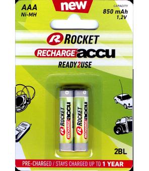 AAA akumuliatorius Rocket RTU 850mAh , 2 vnt.
