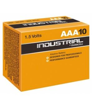 Baterijos Duracell Industrial AAA elementas, 10 vnt.