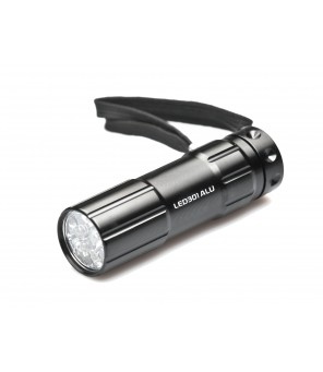 Kišeninis žibintuvėlis Falcon Eye 9 LED  LED301ALU