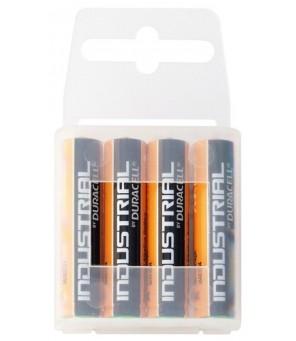 Baterijos Duracell Industrial AAA elementas, 4 vnt.