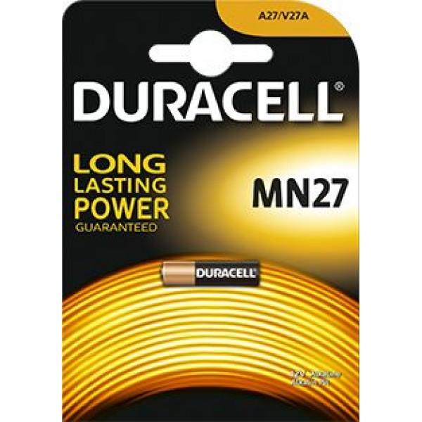 Baterija Duracell MN27 12V baterija, 1 vnt.