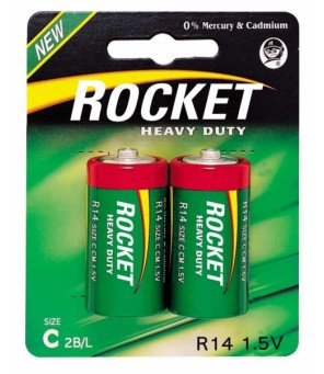 Rocket Heavy Duty C elementas, 2 vnt.