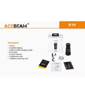 Acebeam E10 760lm, 562 metrai, žibintuvėlis