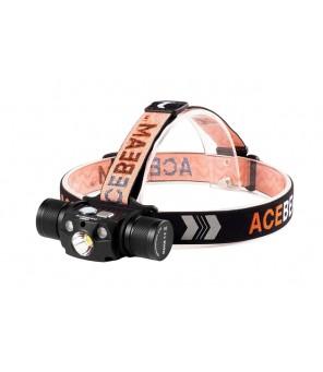 Acebeam H30 žibintuvėlis su raudona ir UV šviesa