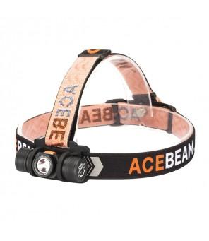 Acebeam H40 CREE žibintuvėlis ant galvos