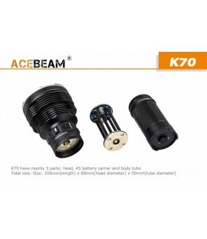 Acebeam K70 žibintuvėlis