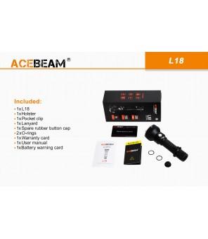 Acebeam L18 žibintuvėlis, 1500lm, 1000 metrų, CAMO