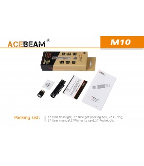 AceBeam žibintuvėlis M10 CREE XLAMP XP-G3