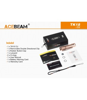 AceBeam TK18 žibintuvėlis OSRAM