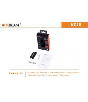 Acebeam UC15 CREE žibintuvėlis