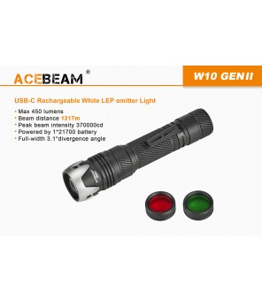 AceBeam W10 GEN II lazerinis žibintuvėlis