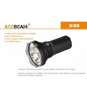 Acebeam X45 žibintuvėlis