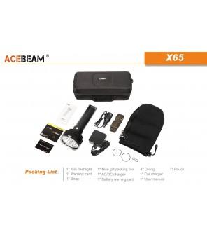 AceBeam X65 žibintuvėlis