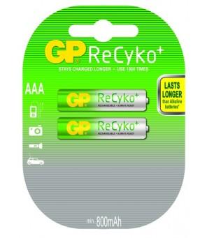 Akumuliatoriai ReCyko+ AAA 850mAh GP, 2vnt