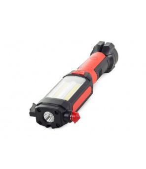 Akumuliatorinė darbo lempa COB LED