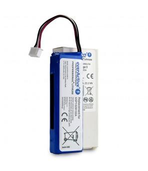 Akumuliatorius everActive EVB101, tinkama baterija JBL Charge 3 kolonėlei