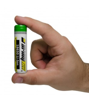 Armytek 18650 3200mAh, įkraunama baterija su apsauga