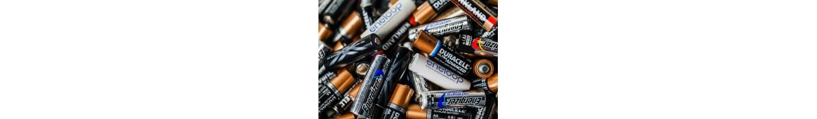 Baterijos ir elementai