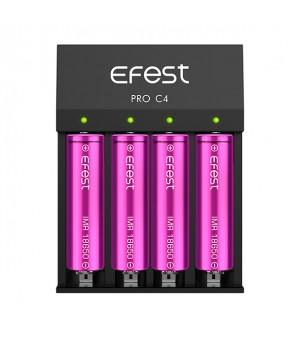 Baterijų įkroviklis Efest Pro C4