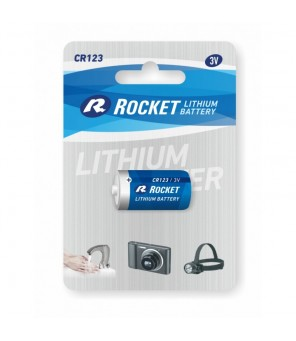 CR123 elementas ROCKET, 1 vnt.