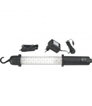 Darbinė LED lempa 60 LED įkraunama