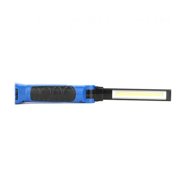 Darbinis žibintuvėlis 3W su magnetu, įkraunamas 230lm, 2200mAh