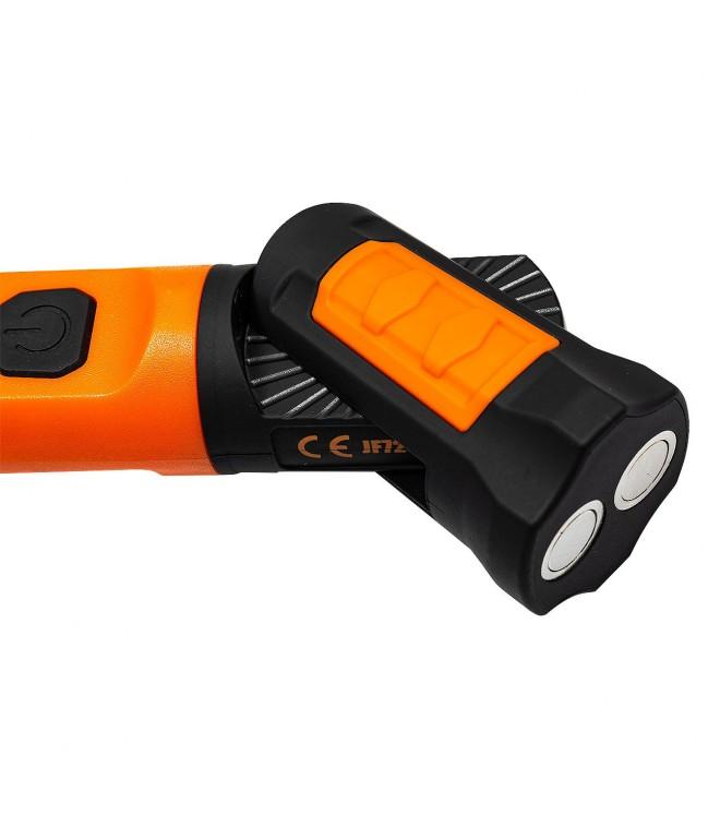 Darbo lempa 30 SMD-LED 50cm, įkraunama