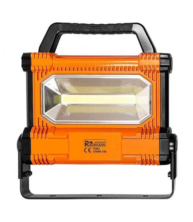 Darbo lempa akumuliatorinė 30W 2800lm, įkraunama