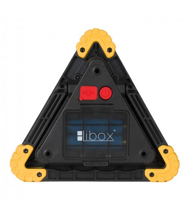 Daugiafunkcinis įspėjamasis įkraunamas dirbtuvių žibintas LIBOX