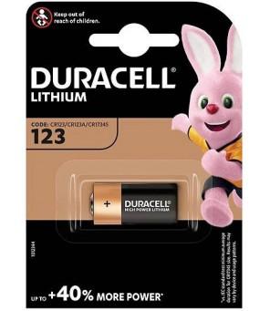 Duracell CR123 baterija