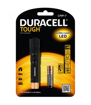 Duracell žibintuvėlis LED TOUGH