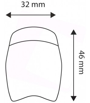 Dviračio žibintuvėliai 2 x 0.5W