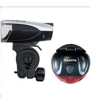 Dviračio žibintuvėlių komplektas VARTA 3W LED