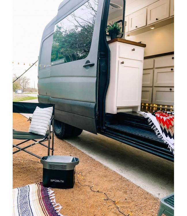 Nešiojama elektrinė EcoFlow Delta 1300 + 2vnt  x 110W saulės baterijos
