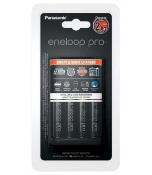 Eneloop BQ-CC55 įkroviklis + 4vnt baterijos Eneloop PRO 2550mAh AA