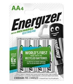 Energizer Extreme 2300 mAh AA HR6 1.2V įkraunamos baterijos 4vnt